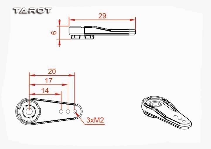 Standard Servo Arm