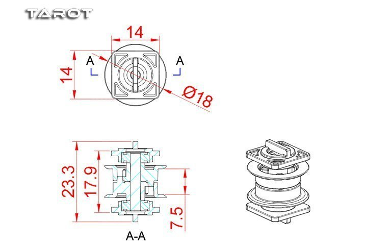 Tail belt guide rollers