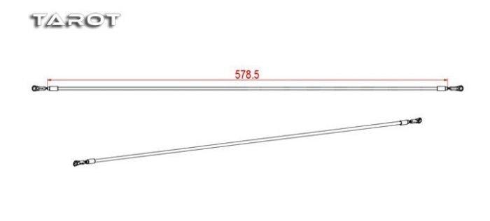Tail Pushrod for 550