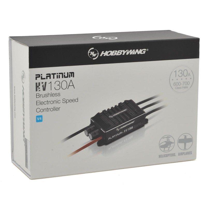 Hobbywing Platinum Pro V4 130A HV Speed Controller